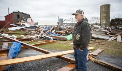 EF1 tornado touched down in Frederick County, National Weather Service determines