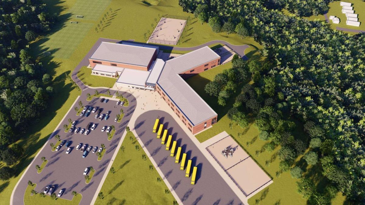 Brunswick Elementary Rendering
