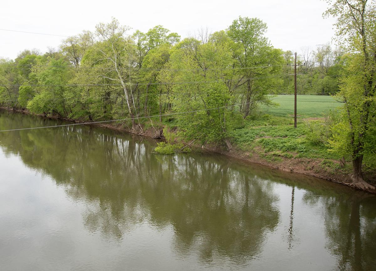 Monocacy River with farm 2