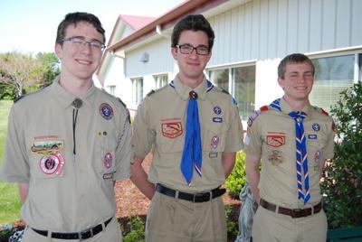 SJCP graduates three Eagle Scouts