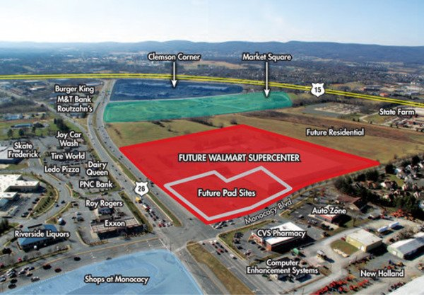 wal mart supercenter approved for north frederick