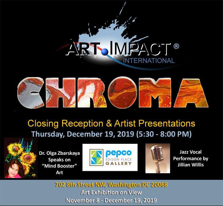 Chroma Closing Reception Invitation