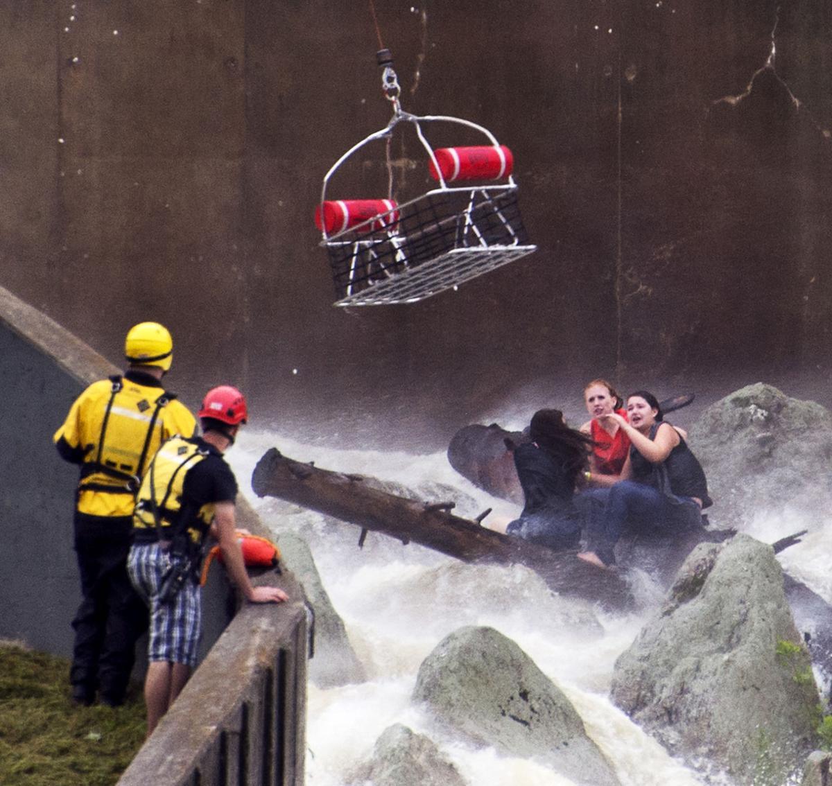 Lake Linganore water rescue