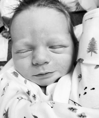 Birth announcement — Harris