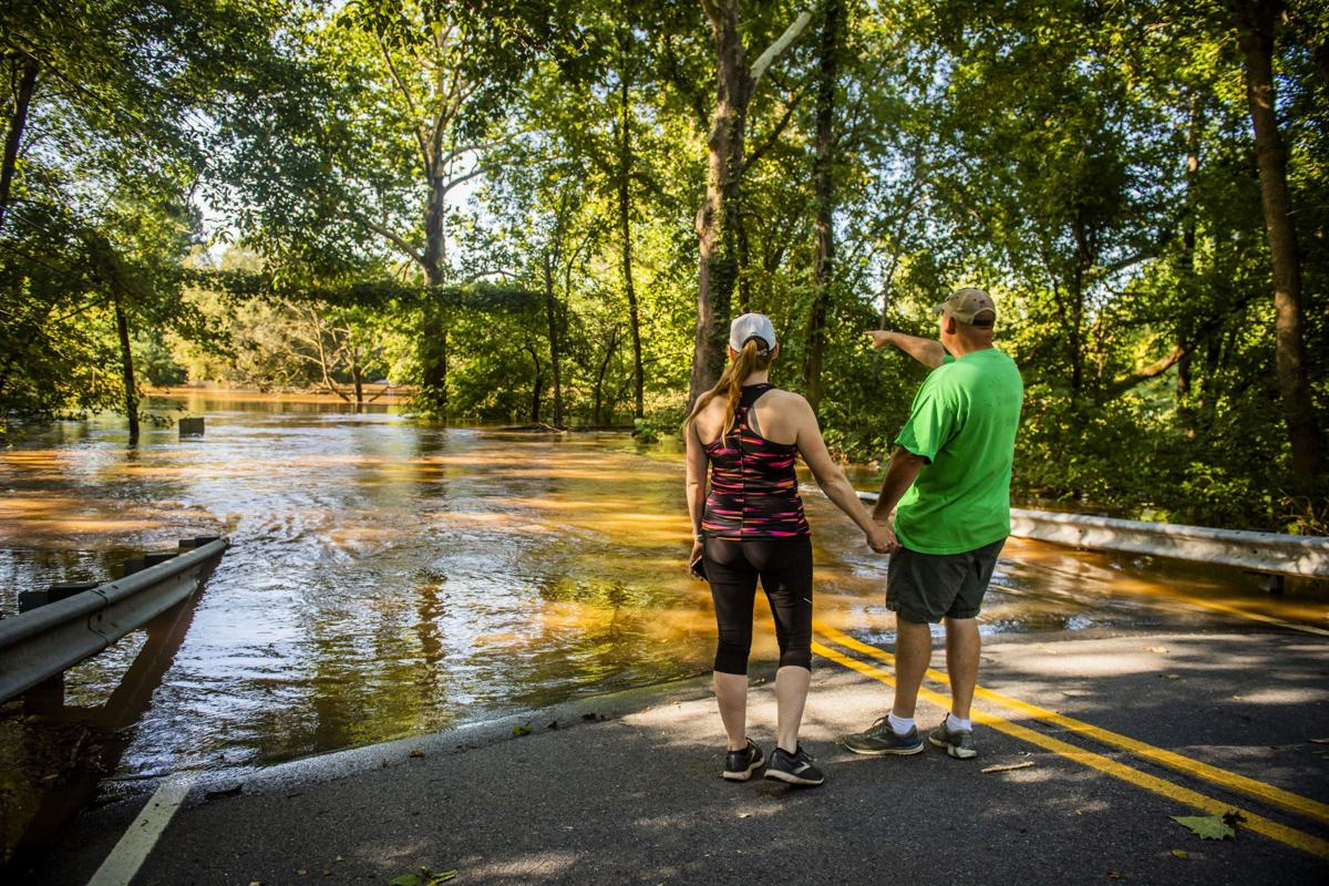 Flooding at Pinecliff Park