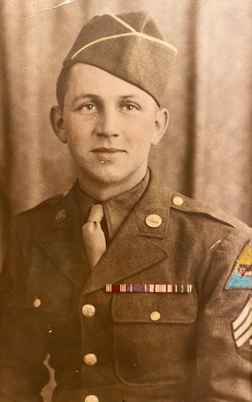 """Irwin """"Buck"""" Isaacs World War II"""
