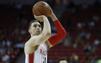 Zach Thomas Rockets Basketball