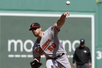 Red Sox Orioles Baseball
