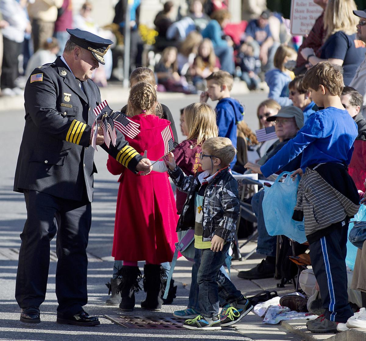 Brunswick Veterans Parade, Milt Frech