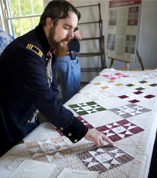 140 years in the making: Traveling quilt spurs fundraiser for Civil War museum