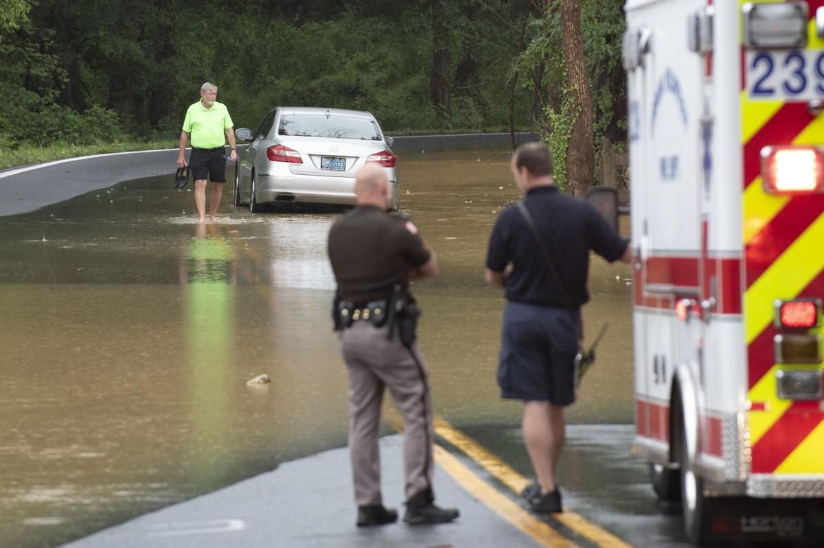 Heavy rain causes flooding throughout Frederick   Disasters