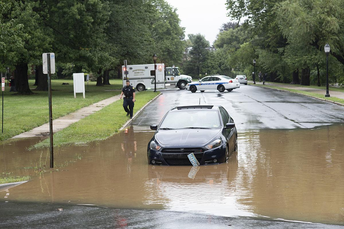 Heavy rain causes flooding throughout Frederick | Disasters