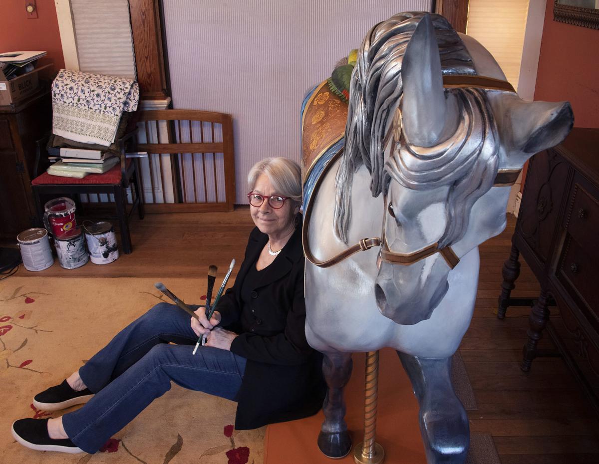 sy Linda Luster carousel horse 8
