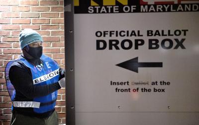 Locking Ballot Drop Box