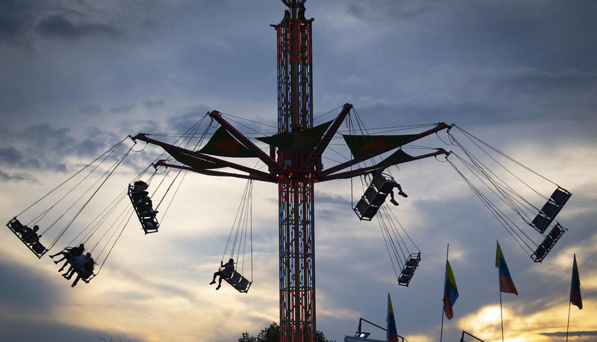 Fair Feature Monday Midway Swing
