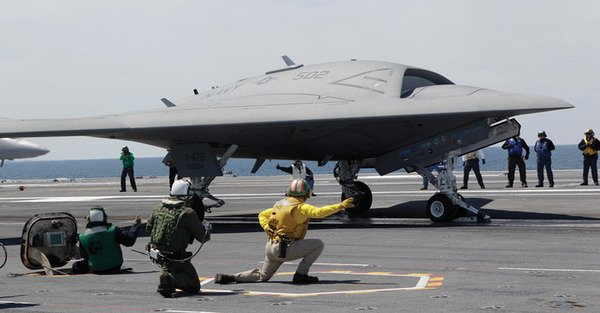 US Launches Jet Size Drone