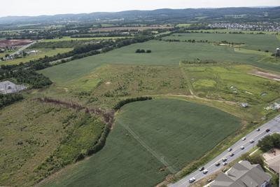 Hargett Farm Park aerial, new plan