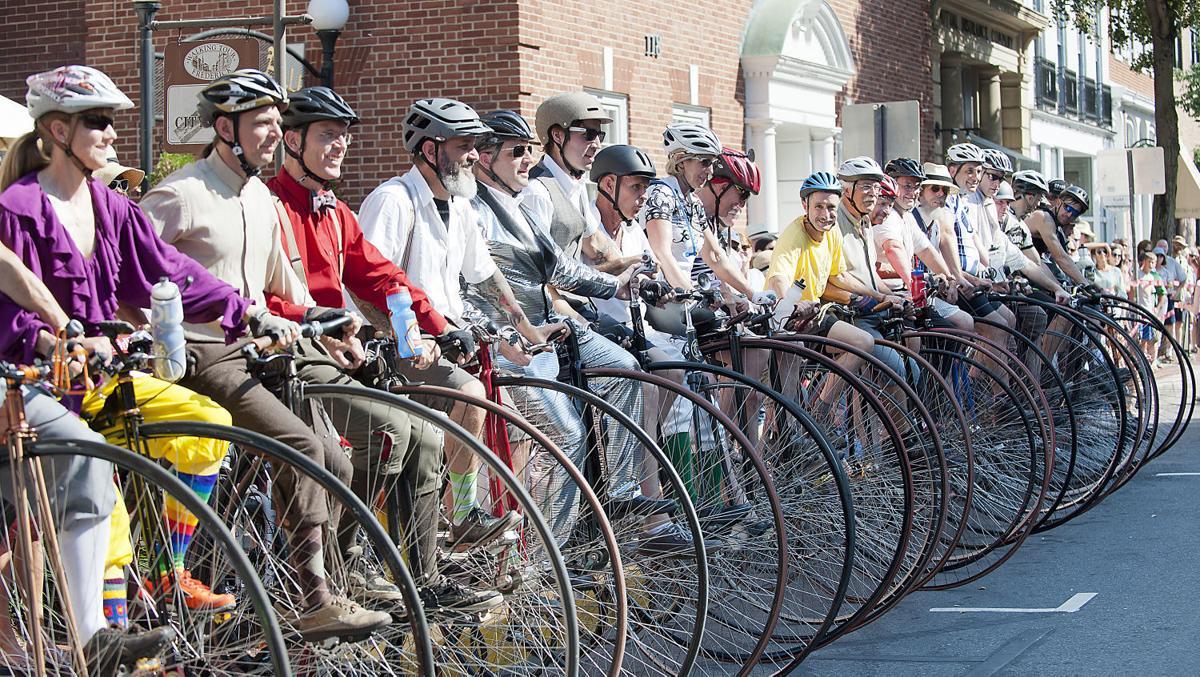 Frederick's Big Wheel race