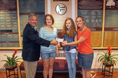 Students make donation to Frederick Memorial Hospital