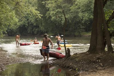 DG Kayaking on Monocacy SA
