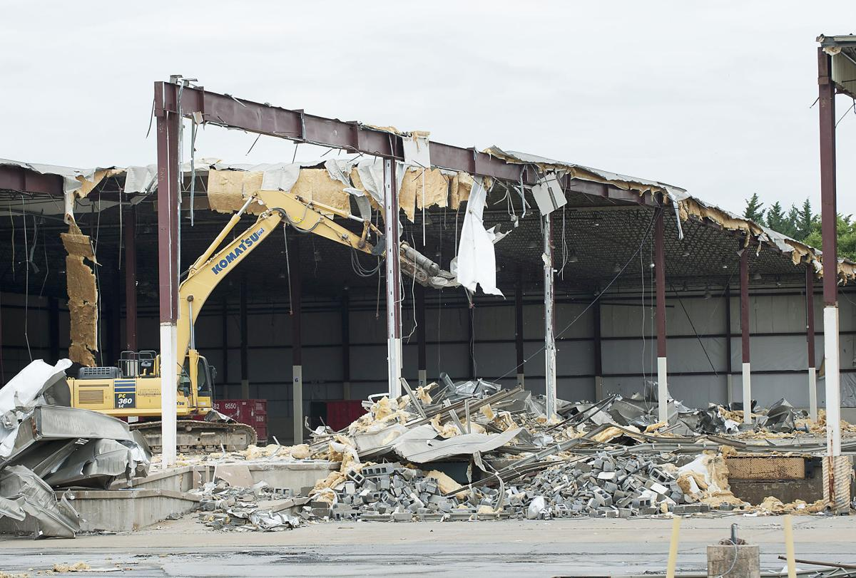 Demolition Begins For Future Wal Mart On Md 26 Economy