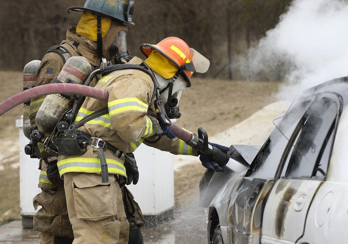 DG FC Fire Academy car and dumpster fires 4