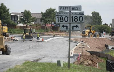 Traffic circle construction