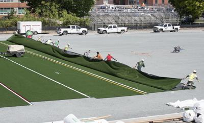 DG Football field turf at FHS 2 (copy)