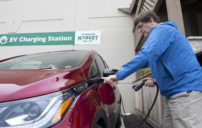 County ranks high in number of electric vehicles, but some work