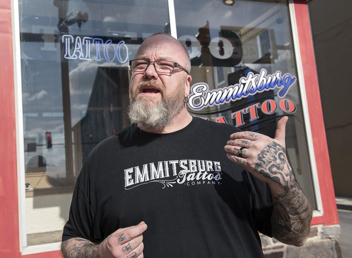 Emmittsburg Tattoo Sign