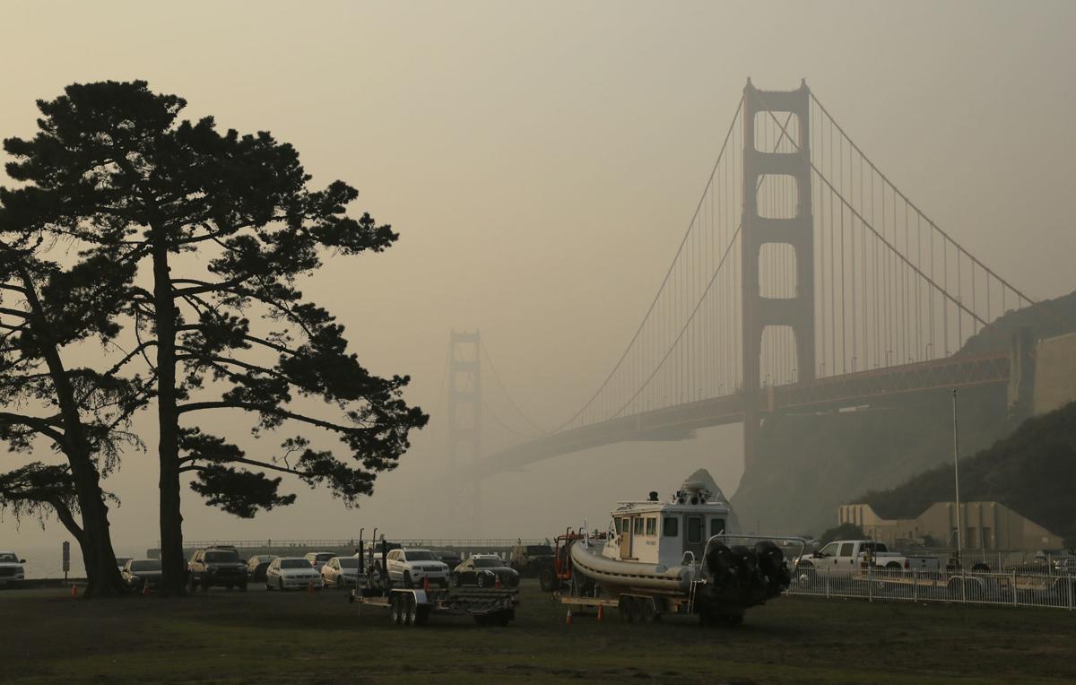 Wildfires Smoky Air