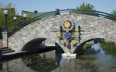 Image result for stone arch bridge carroll creek park