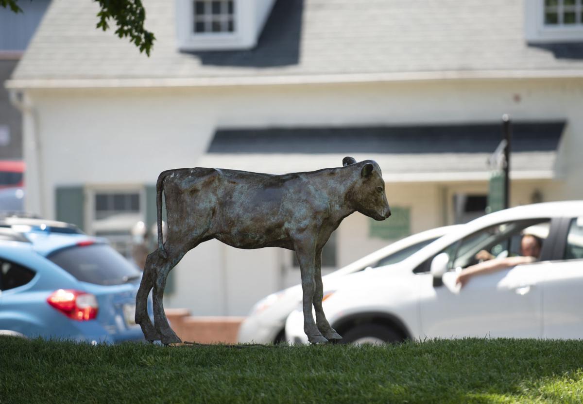 Becky the Calf sculpture