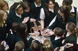 In unique ceremony, eighth-graders receive school class