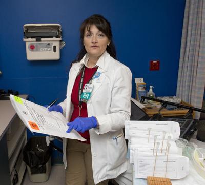My First Job Pam Holtzinger Frederick Memorial Hospital Forensic Nurse Examiner Bulletin Fredericknewspost Com