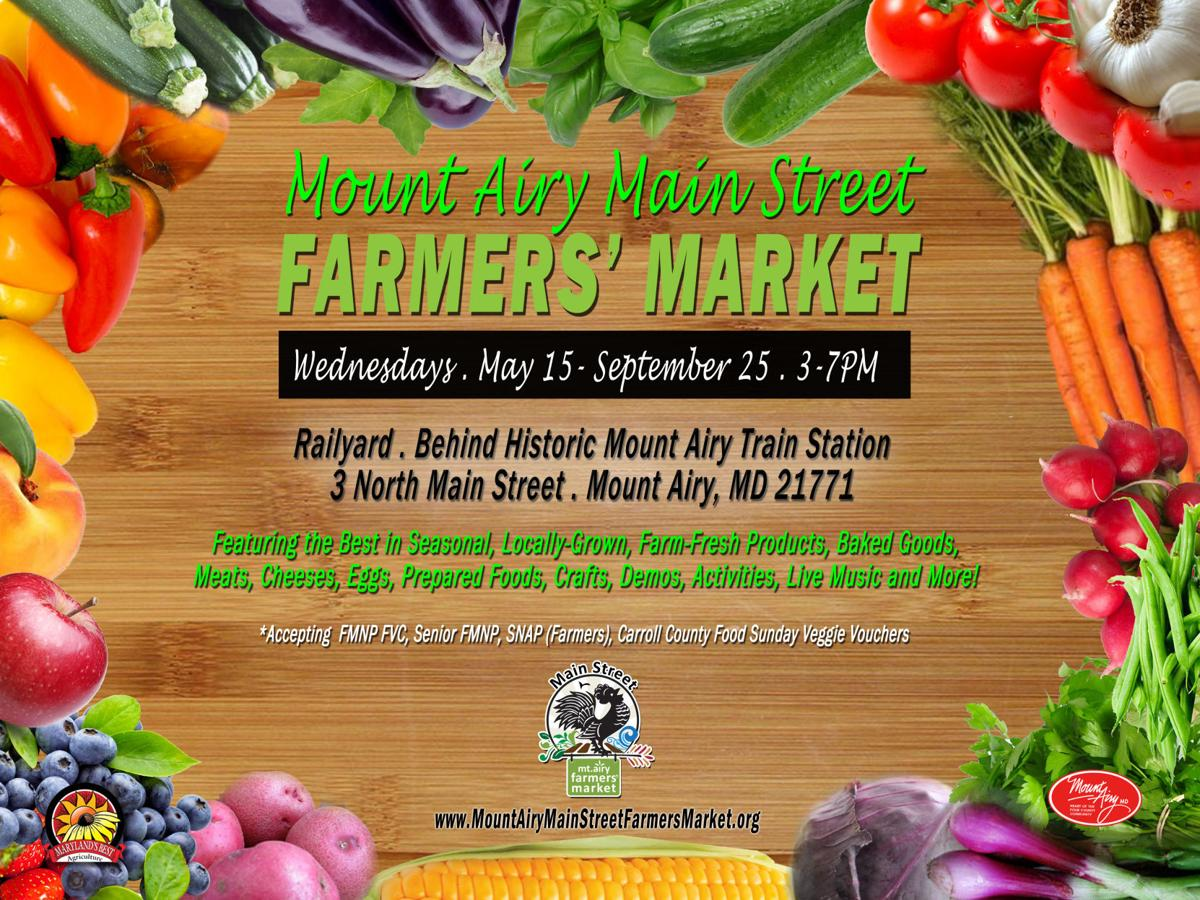 Mount Airy Main Street Farmers' Market - 2019 Flier