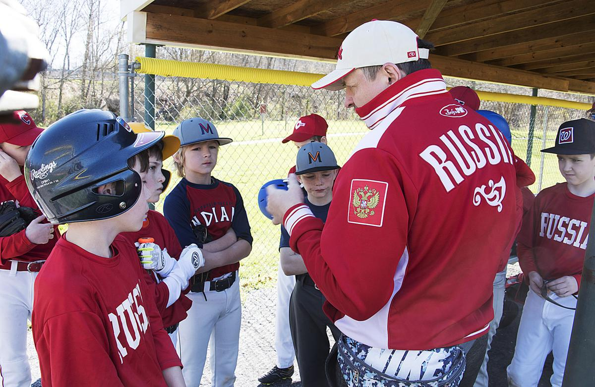 Myersville vs. Russia LL baseball