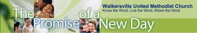 Walkersvile Methodist Church Header