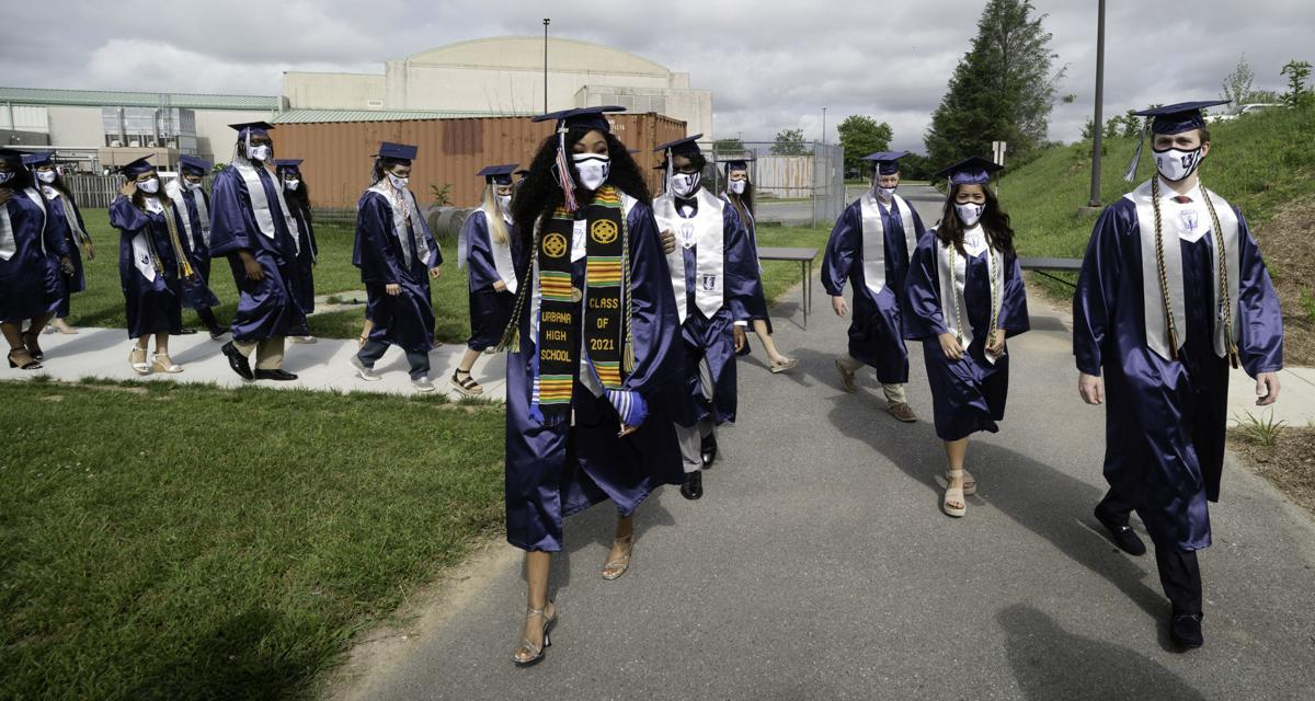 UHS 2021 graduation