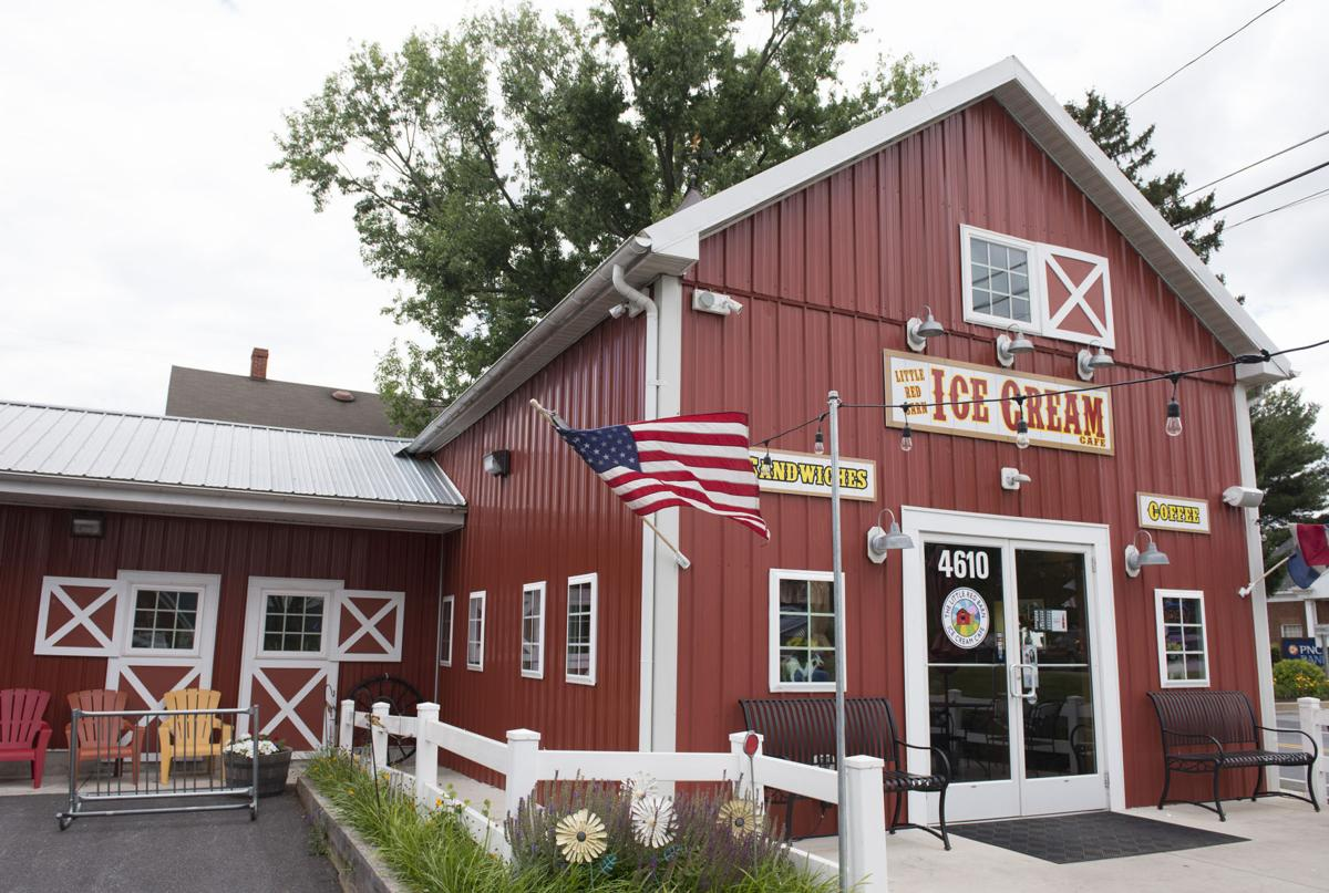 The Dish Ice Cream Is King At Little Red Barn Ice Cream Cafe 72