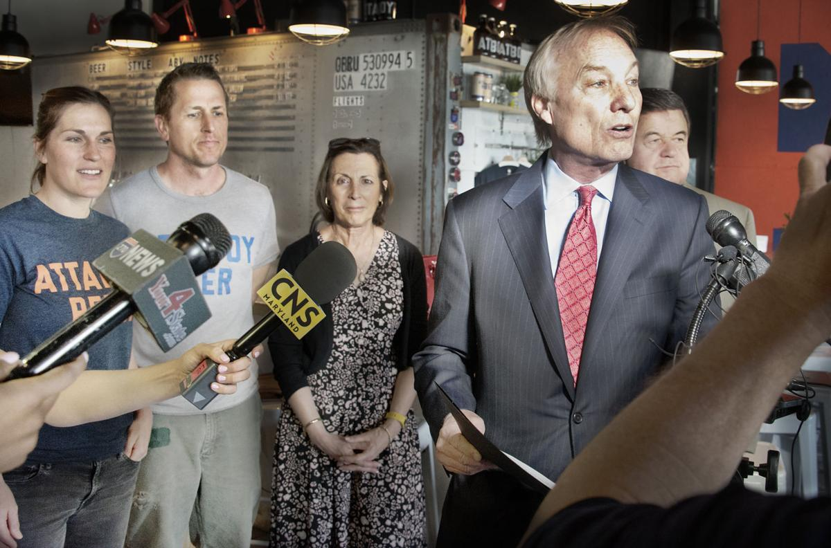 Md. Comptroller Franchot at Attaboy Brewery AE
