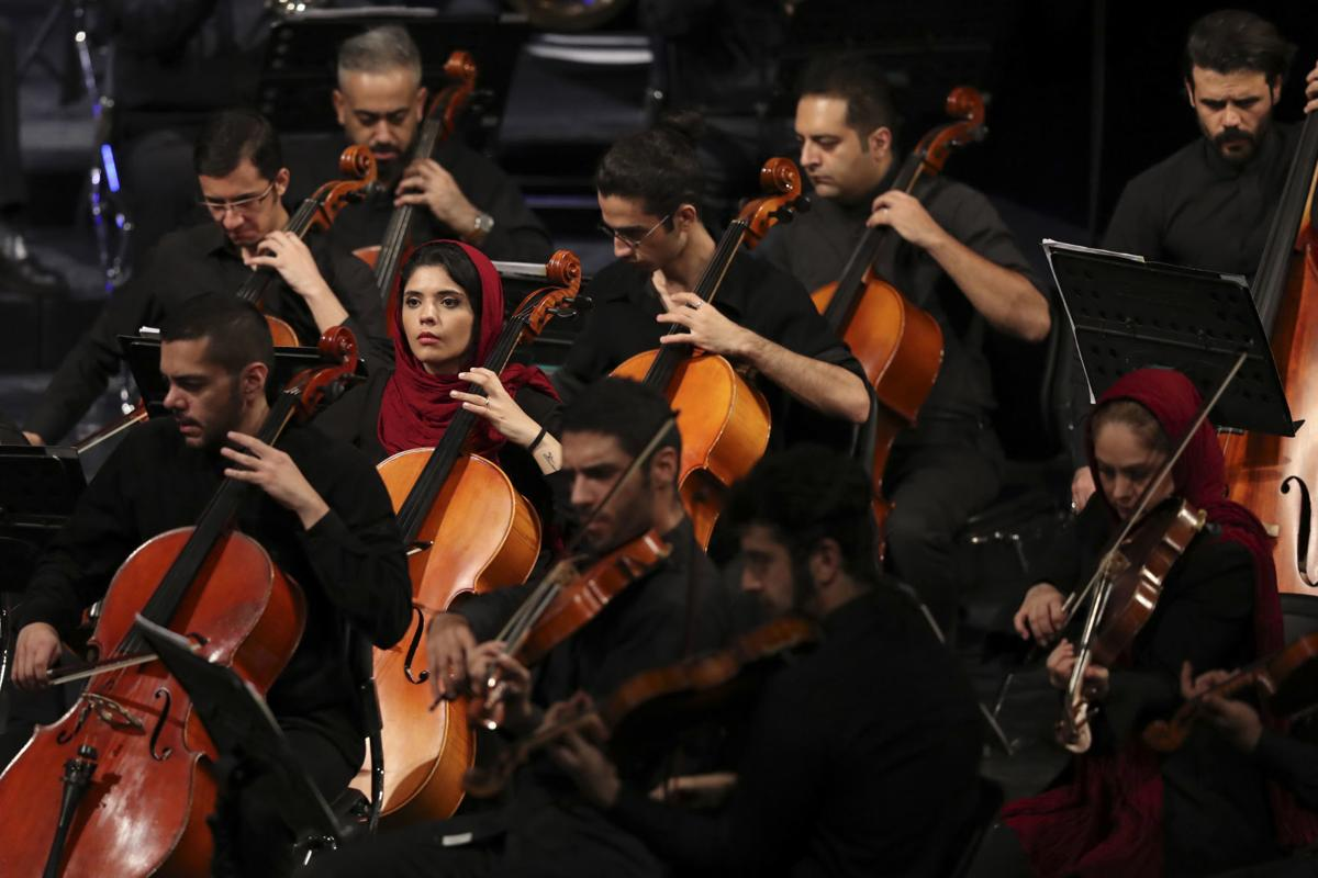Iran Notebook At The Symphony