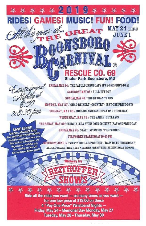 Great Boonsboro Rescue Co  Carnival   Community events & festivals