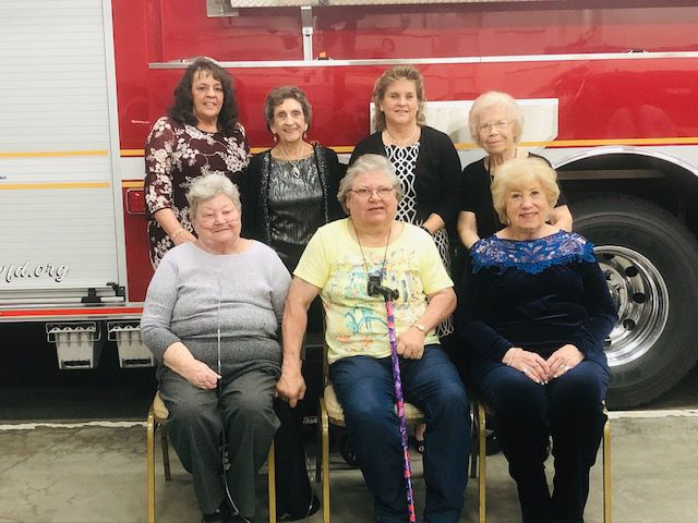 UFVD Ladies Auxiliary board of directors