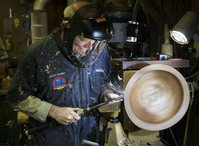 Artisan woodturner from Jefferson brings craft to Valley Craft Network Studio Tour