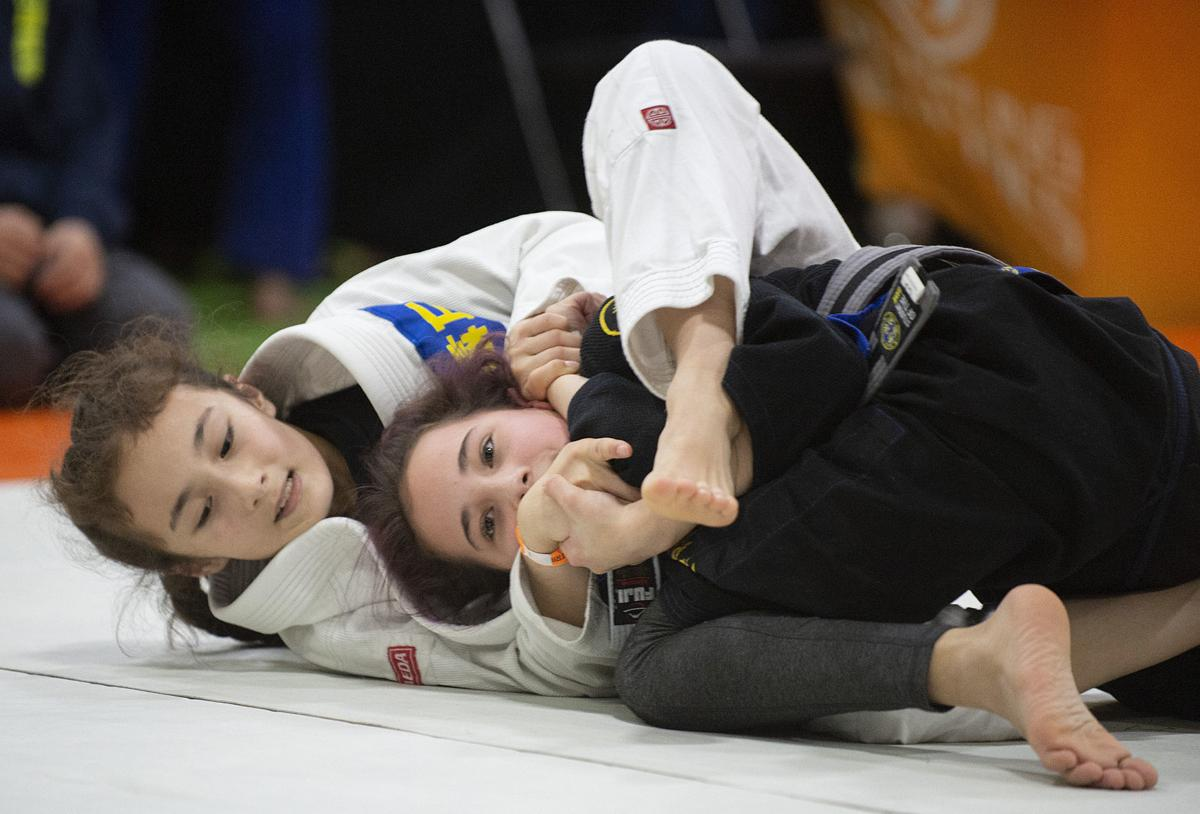 Jiu-jitsu tournament brings fighters to Frederick