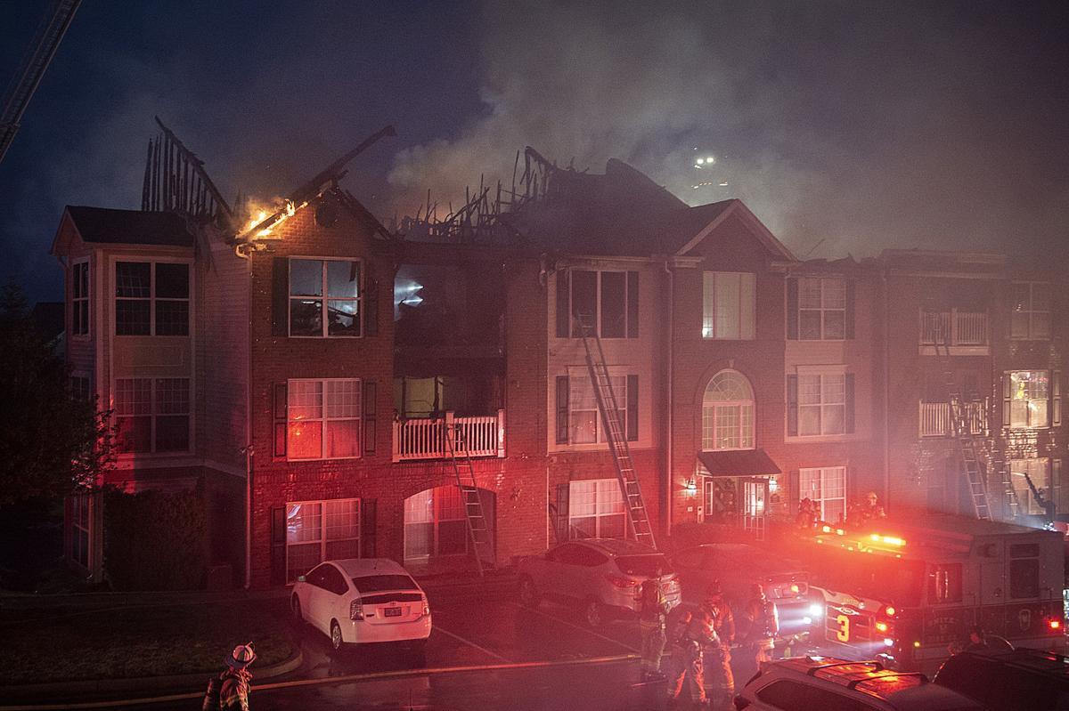 Ridge View Condo Fire
