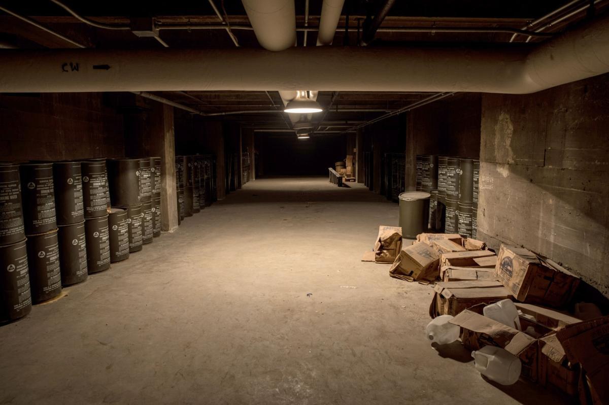 Afc Floor Plan >> The school fallout shelter was untouched for 55 years, but it might come in handy now | Real ...