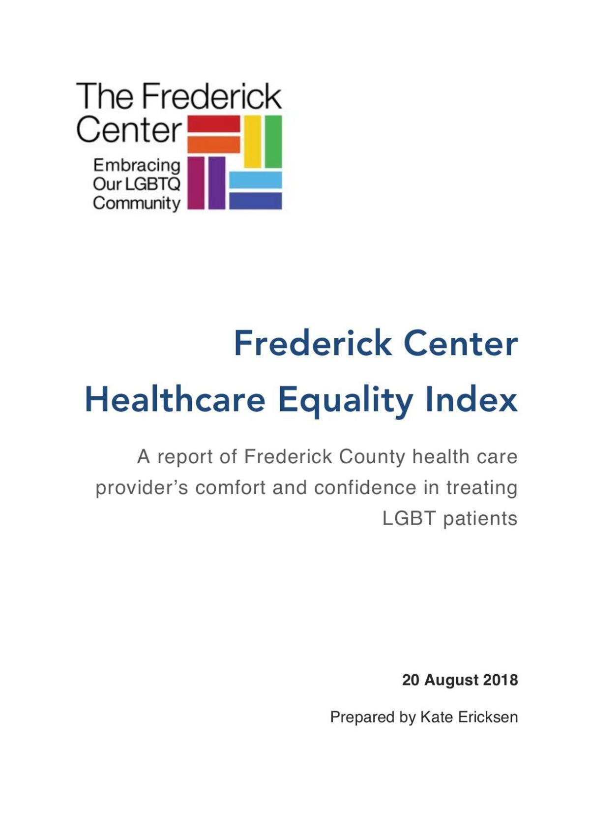 Frederick Center survey
