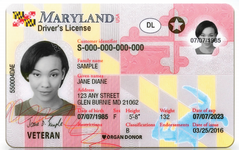 Maryland Licenses com Fredericknewspost New Id Unveils Cards Driver's Ap